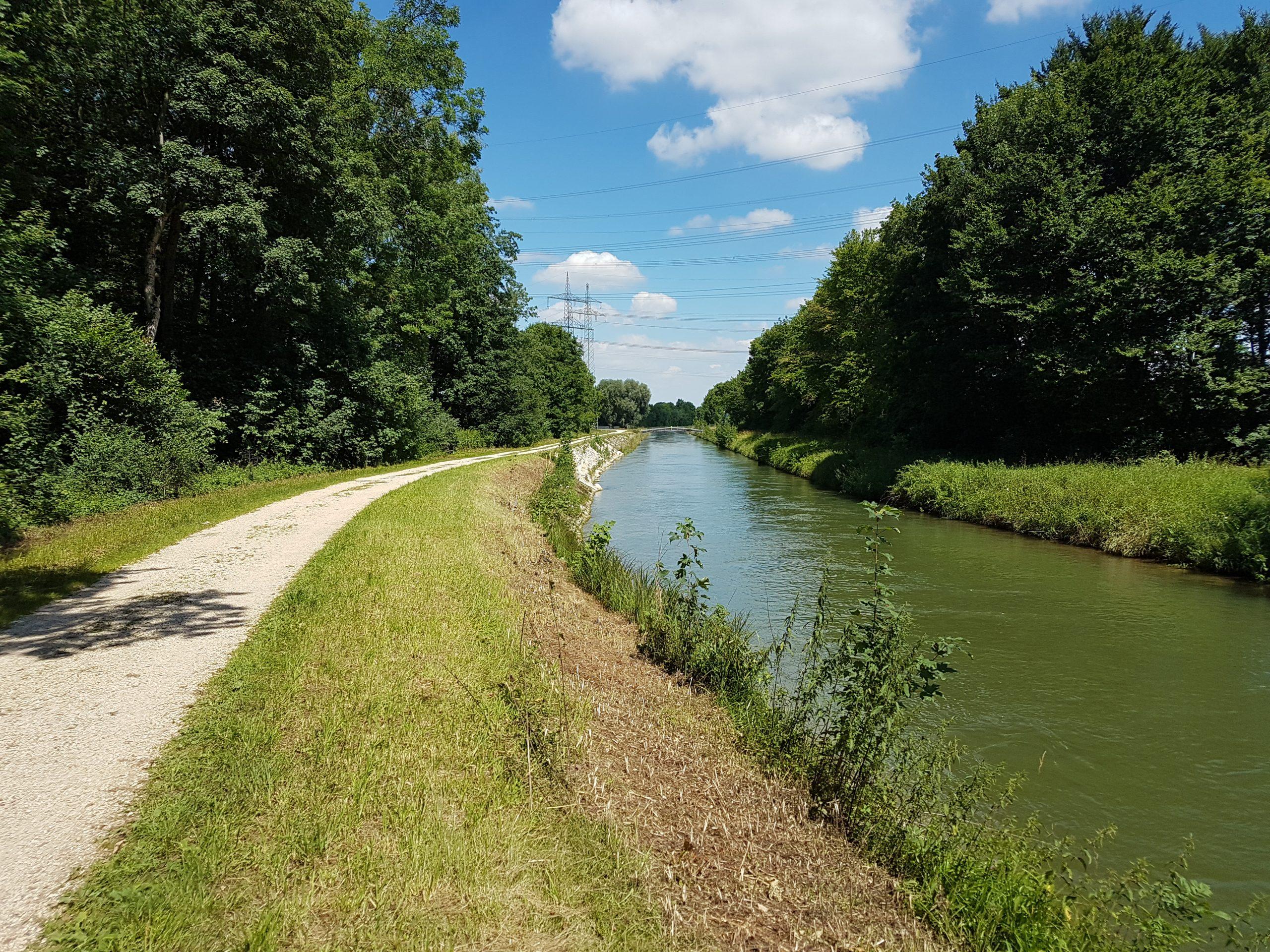 Baumaßnahmen Wielandkanal